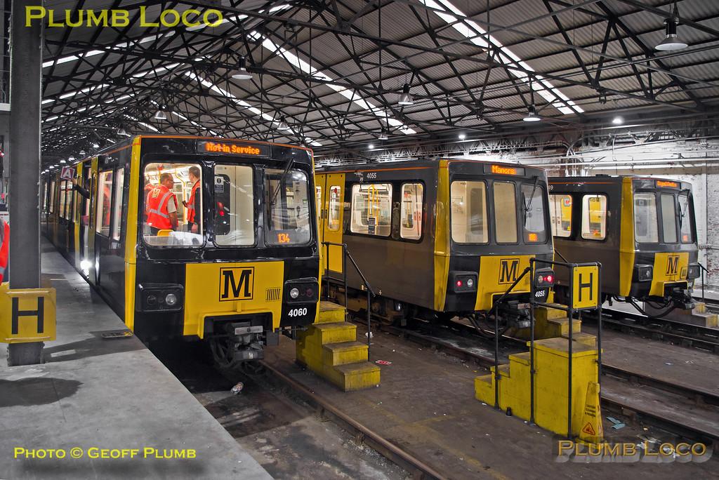"Metrocar 4060, BLS ""Metro Meanderer"", Gosforth Depot, 25th February 2018"