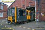 Metrocar 4002, Gosforth Depot, 25th February 2018