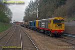 "PoV 156 413, BLS ""North Midlands Tracker"", Class 20s, Melton Mowbray, 27th February 2016"