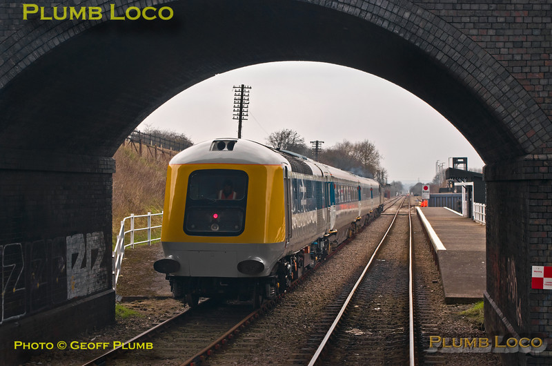 "PoV 156 413, BLS ""North Midlands Tracker"",  41001 at Rushcliffe Halt, 27th February 2016"