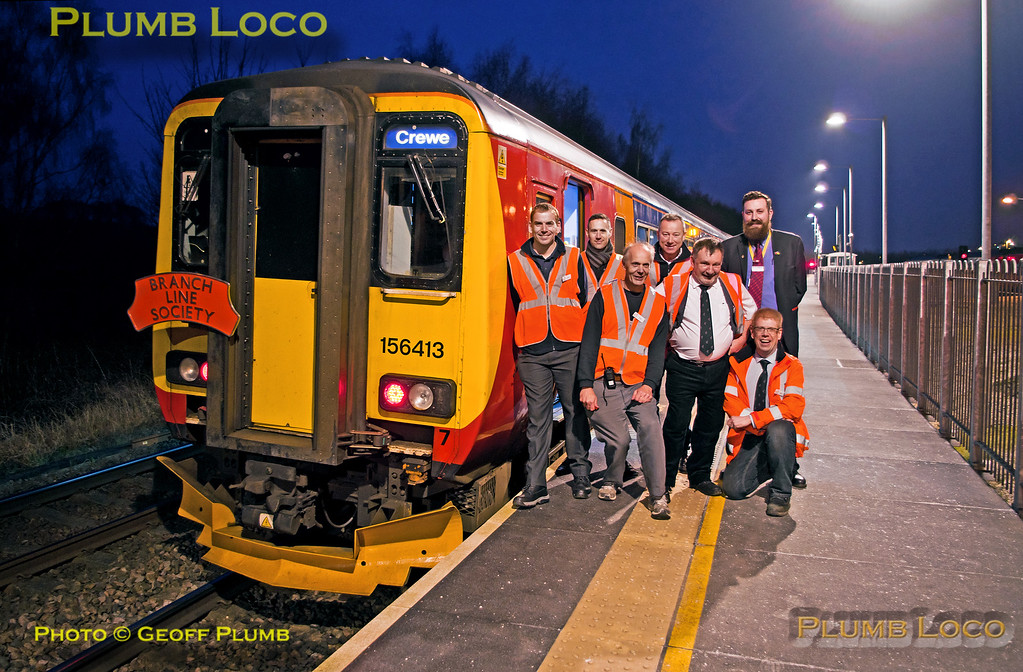 """156 413, BLS & EMT Group, """"North Midlands Tracker"""", Chesterfield, 27th February 2016"""