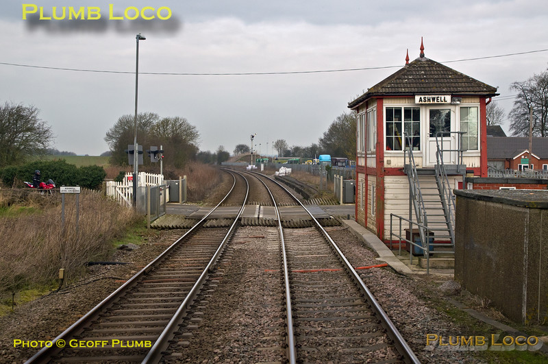 "PoV 156 413, ""North Midlands Tracker"",  Ashwell Signal Box, 27th February 2016"
