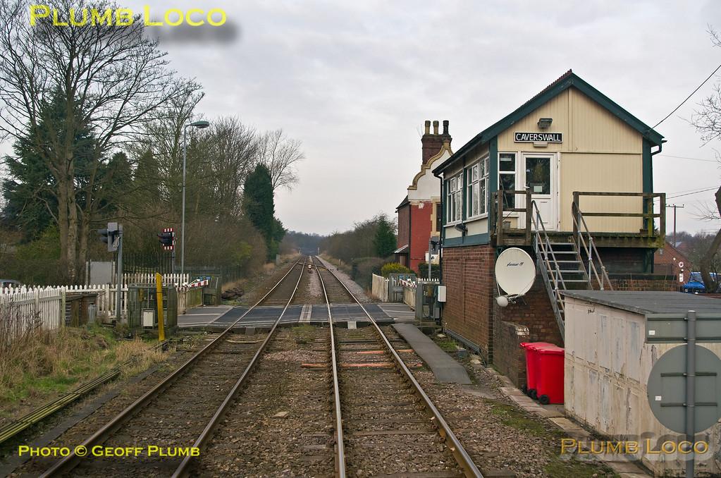 PoV 156 413, North Midlands Tracker, Caverswall Signal Box, 1Z56, 27th February 2016
