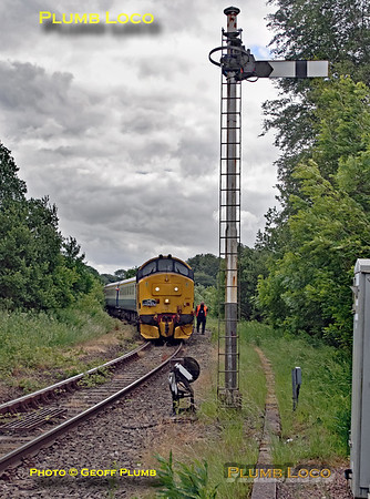 """37401, BLS """"Nosey Peaker"""", Buxton, Signal BN27, 14th June 2018"""