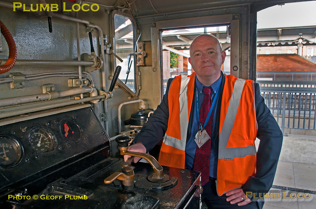 BLS Pickering Paxman, EMT Driver of 08899, Derby, 15th July 2017