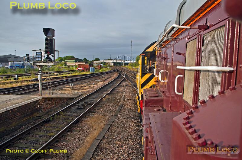 PoV 08899, BLS Pickering Paxman, Derby Station, 15th July 2017