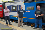 BLS Pickering Paxman, 43082 Re-dedication, Whitby, 15th July 2017