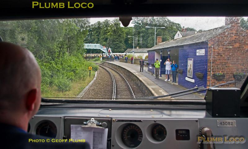 PoV 43082, BLS Pickering Paxman, 1Z50, Grosmont Platform 1, 1Z50, 15th July 2017