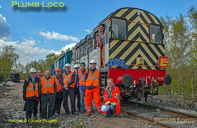 """BLS """"Rossington Recycler"""", 08527, Stewards Group, 13th April 2019"""