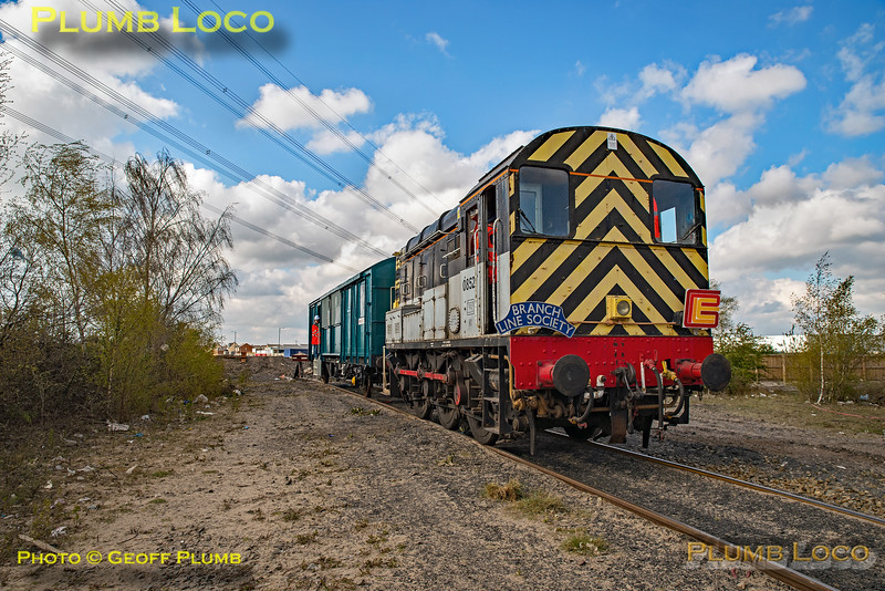 "BLS ""Rossington Recycler"", 08527, Rossington Head Shunt, 13th April 2019"