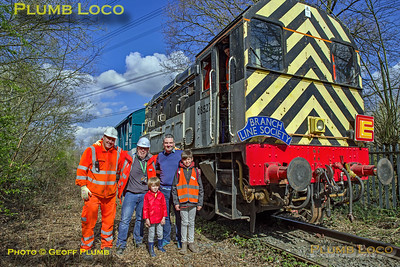 """BLS """"Rossington Recycler"""", 08527, Cabride Group, 13th April 2019"""