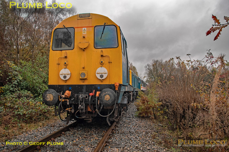 "BLS ""Roundhouse Rotator"", 20107, Springwell Branch, 17th November 2019"