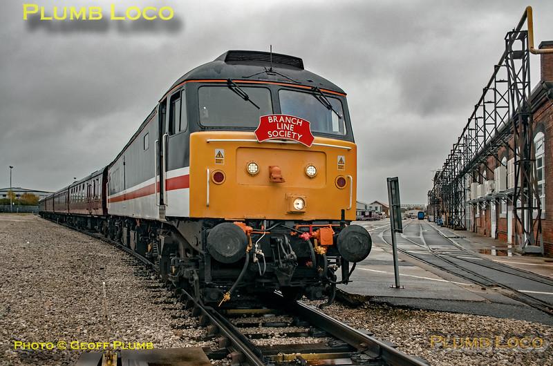"BLS ""Roundhouse Rotator"", 47828, Derby Litchurch Lane, 17th November 2019"