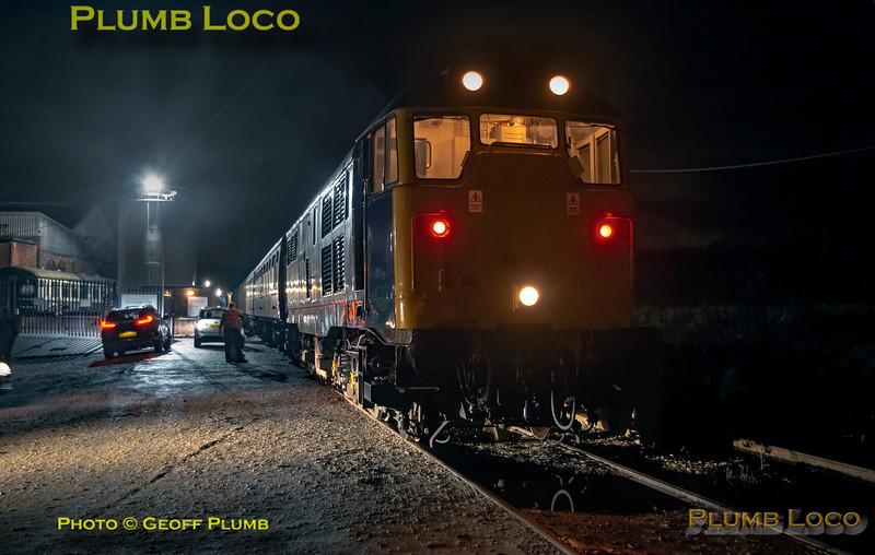 "BLS ""Roundhouse Rotator"", 31128, Barrow Hill, 17th November 2019"