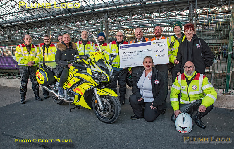 "BLS ""Ruby Shoesday"", Blood Bikes Group, Southport, 28th October 2018"