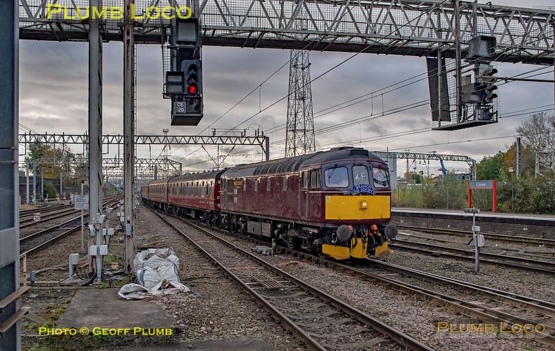 33025, BLS-ECS, 5Z86, Crewe, 4th November 2018