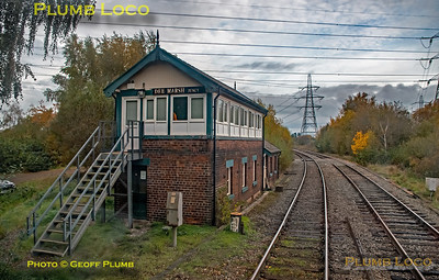 "PoV 47826, BLS ""Ruby Vampire"", Dee Marsh Junction Signal Box, 4th November 2018"