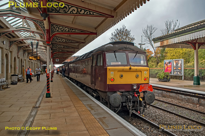 "47826, BLS ""Ruby Vampire"", Wrexham General Platform 1, 4th November 2018"