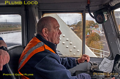 "Driver Ray Poole, BLS ""Ruby Vampire"", Hawarden Bridge, 4th November 2018"