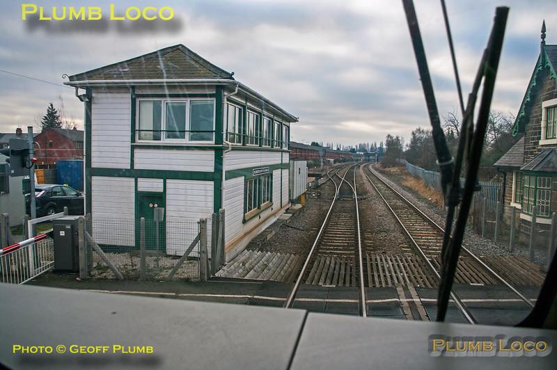 PoV 67013, Croes Newydd North Fork Signal Box, 5P03, 29th January 2011