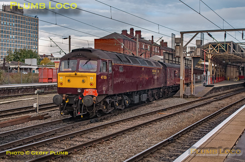 47826, BLS-ECS, 5Z86, Crewe, 4th November 2018