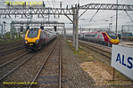 S&C Desiro Tracker, Longsight North, Up & Down Goods Line, 1Z85, 19th April 2015