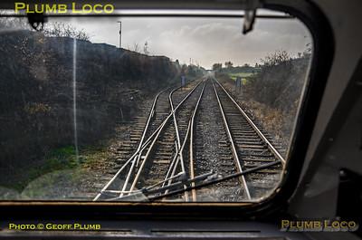 "PoV 41001, BLS ""Screaming Valentas"", Bunny Road Ground Frame, 17th November 2018"