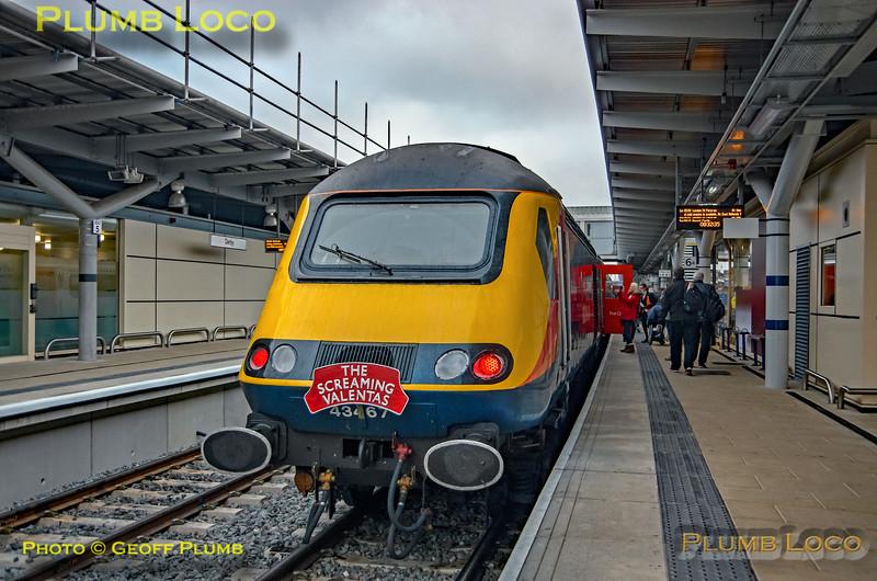 "43467, BLS ""Screaming Valentas"", Derby Platform 6, 17th November 2018"