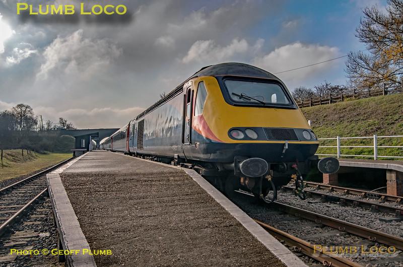 "43423, BLS ""Screaming Valentas"", Rushcliffe Platform 2, 17th November 2018"