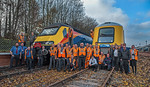 "BLS ""Screaming Valentas"", Group Shot, Ruddington Fields, 17th November 2018"