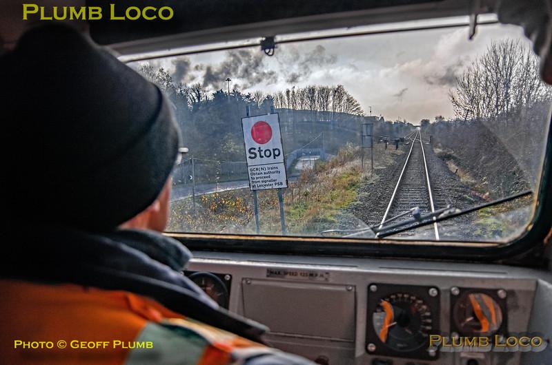 "PoV 41001, BLS ""Screaming Valentas"", Hotchley Hill, 17th November 2018"