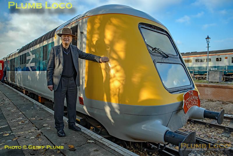 Sir Kenneth Grange with 41001, Ruddington Fields, 17th November 2018