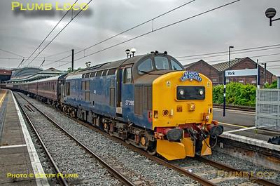 BLS 'Sinfin Syphon', 37422, York Platform 6, 1Z38, 3rd July 2021