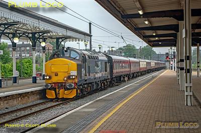 BLS 'Sinfin Syphon', 37423, York Platform 6, 5Z38, 3rd July 2021