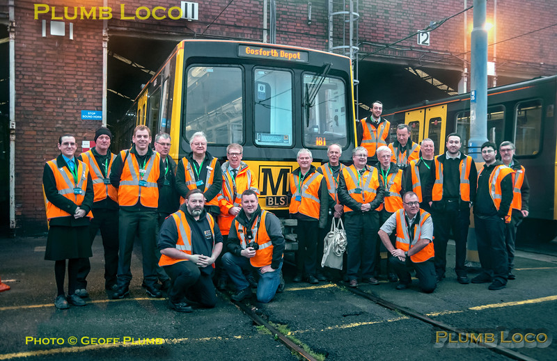 """BLS """"South Gosforth Avoider"""", BLS/Metro Group, Gosforth Depot, 24th February 2019"""