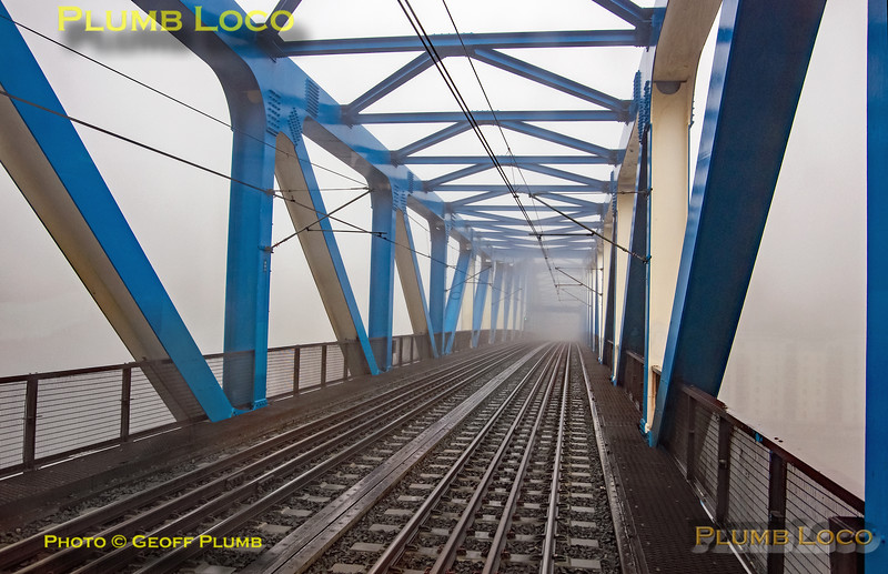 "BLS ""South Gosforth Avoider"", PoV 4085, Fog on the Tyne! 24th February 2019"