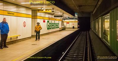 "BLS ""South Gosforth Avoider"", PoV 4085, Gateshead Station, 24th February 2019"