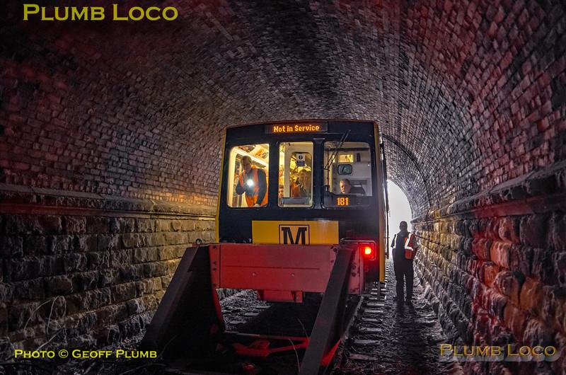"BLS ""South Gosforth Avoider"", New Bridge Street Tunnel, 24th February 2019"