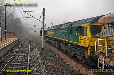 "BLS ""South Gosforth Avoider, PoV 4085 to 66537, Pelaw, 24th February 2019"