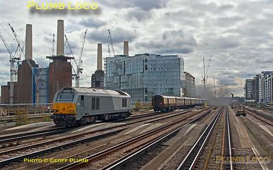 PoV 465 009, BLS Southeastern Metrolander, 67012, Grosvenor Bridge, 23rd September 2017
