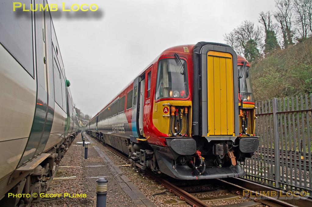 442402,  Class 442 Farewell, Preston Park Carriage Sidings, 1Z45, 12th March 2017