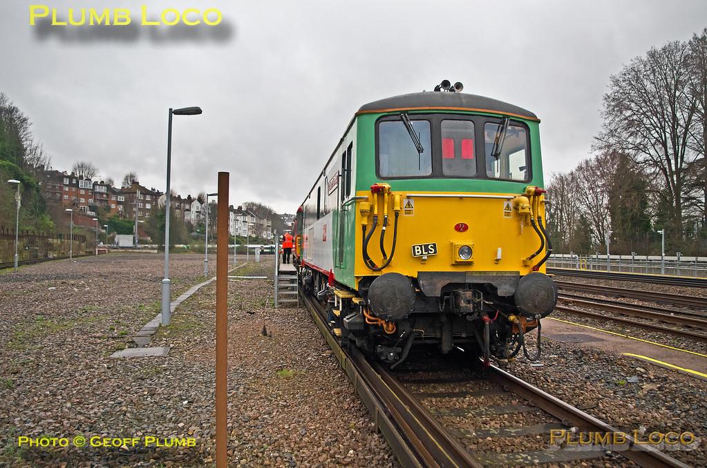 73202, Class 442 Farewell, Lovers Walk Sidings, 5Z46, 12th March 2017