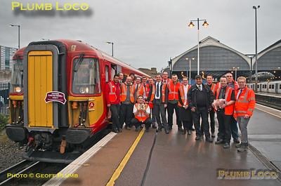 BLS Southern Class 442 Farewell