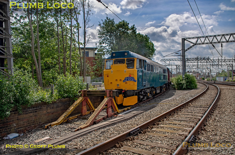 "BLS ""Sunday Yicker"", 31128, Crewe CET Siding, 9th June 2019"