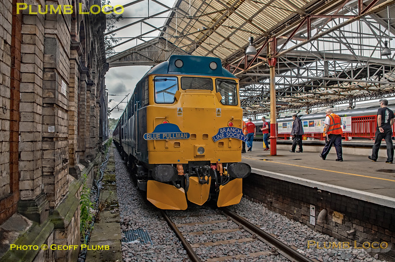 "BLS ""Sunday Yicker"", 31128, Crewe Platform 1, 9th June 2019"
