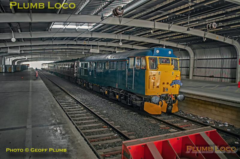 "BLS ""Sunday Yicker"", 31128, Platform 3 Dallam Royal Mail Terminal, 9th June 2019"