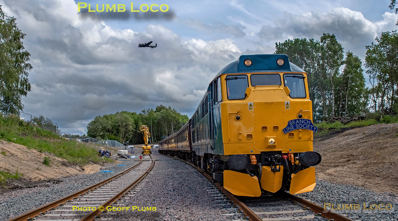 "BLS ""Sunday Yicker"", 31128, Bickershaw Headshunt No.1, 9th June 2019"