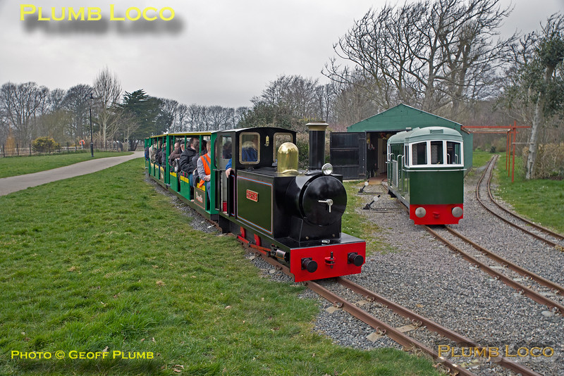 """Boris"" & Class 33, Hotham Park Railway, BLS ""Sussex Salopian"", 24th March 2018"