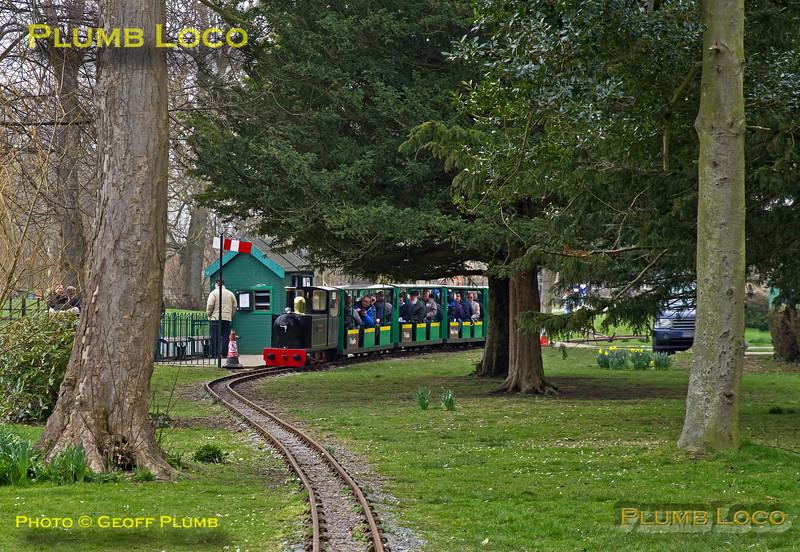 """Boris"", Hotham Park Station, BLS ""Sussex Salopian"", 24th March 2018"