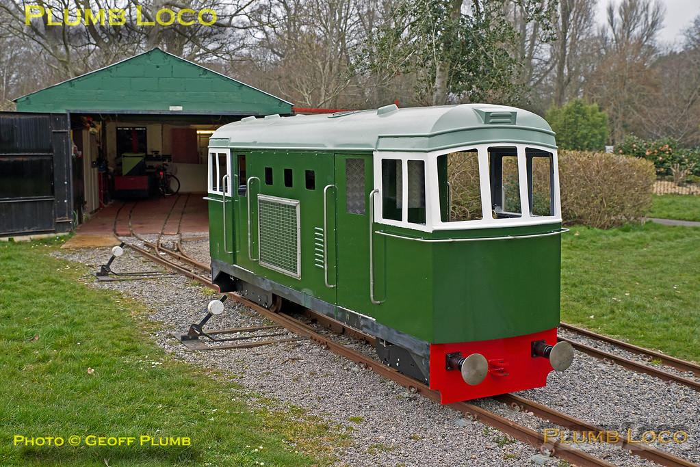 "Class 33, Hotham Park Railway , BLS ""Sussex Salopian"", 24th March 2018"